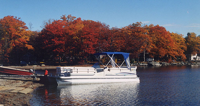 Fall boating